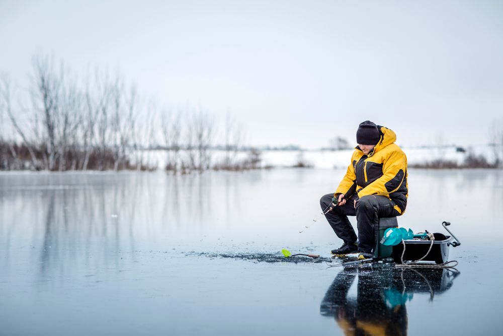 how to choose the best ice fishing line