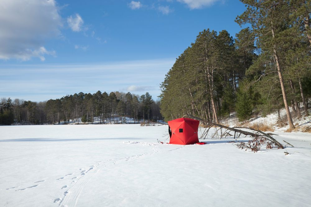 how to choose the best ice fishing shelters